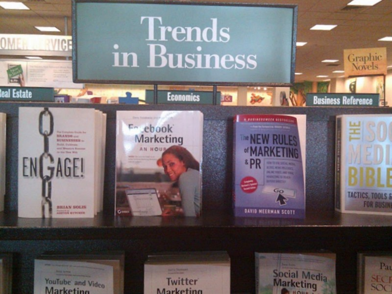 Barnes and Nobles - Social Media Non-Section